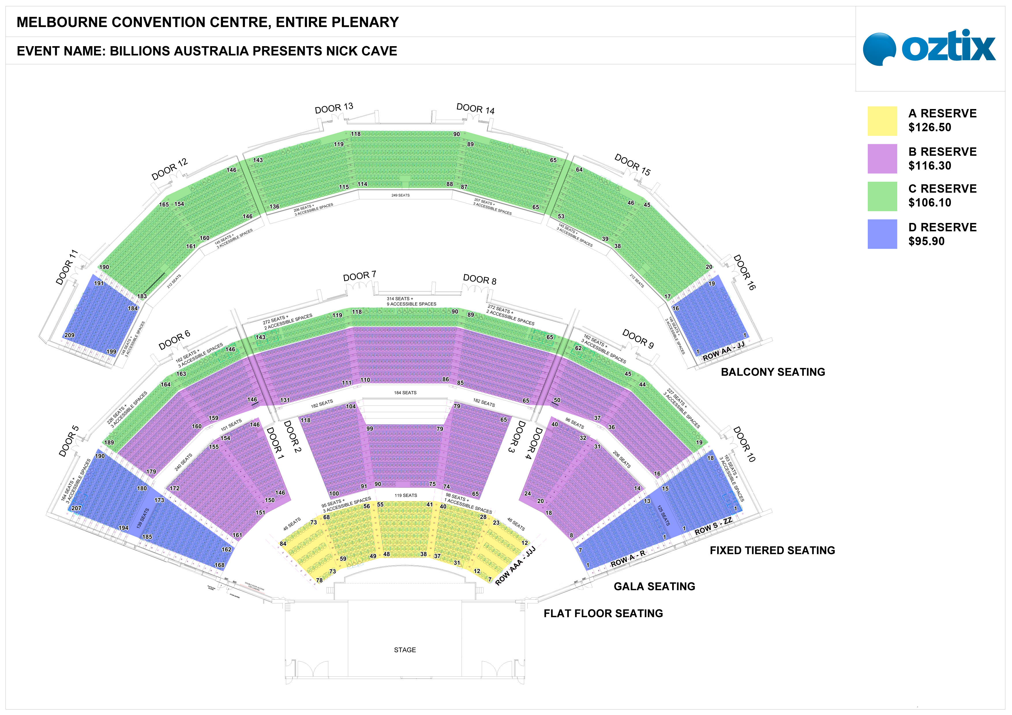 Man Cave Expo Melbourne Tickets : See seating map here