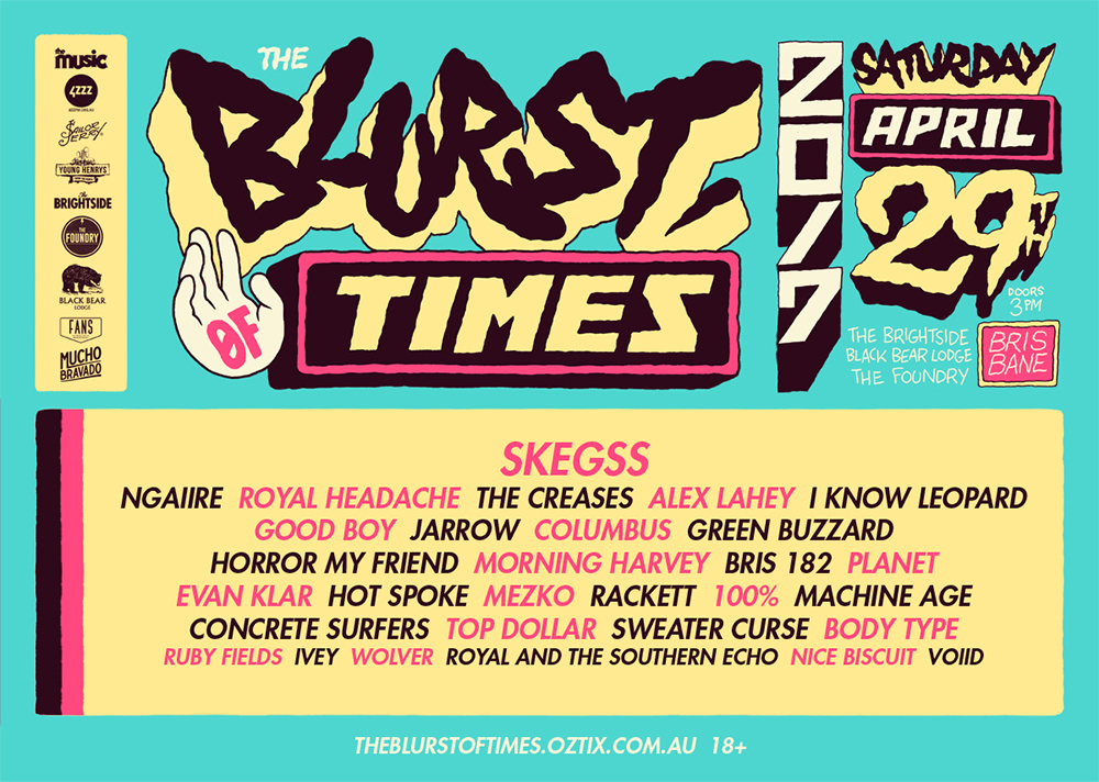 Score a rad The Blurst of Times Festival AAA Upgrade for you and two mates