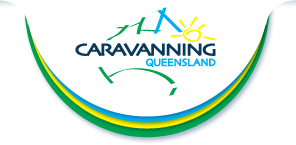 Caravan Queensland's Logo